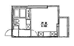 ライフゾーン藤沢[301号室]の間取り