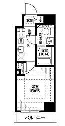 プレール・ドゥーク東京EAST[2階]の間取り