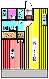 WADA11[2階]の間取り