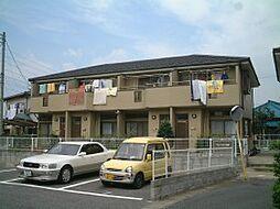 千葉県柏市宿連寺の賃貸アパートの外観