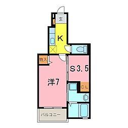 仮)伏見町アパート[103号室]の間取り