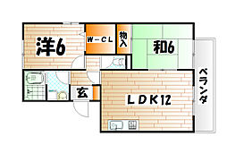 レスポワール赤坂B棟[1階]の間取り