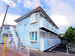 東京都練馬区上石神井3丁目の賃貸アパートの外観