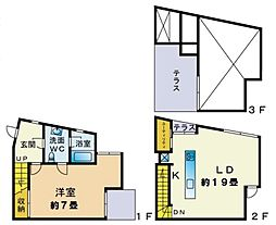 K's Apartment[D号室号室]の間取り