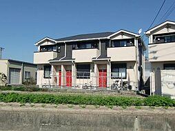 愛知県清須市阿原宮前の賃貸アパートの外観