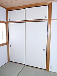 1階和室には押入があります。