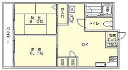 第6よしみビル[7階]の間取り