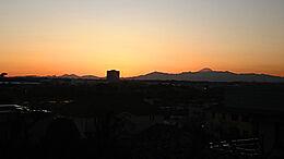 現地からの写真/美しい夕陽を一望できます。