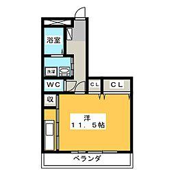 プレミアムB[2階]の間取り