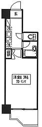 メゾン・ド・新宿[803号室号室]の間取り