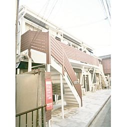 東京都豊島区駒込6丁目の賃貸アパートの外観