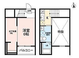 Jeunesse新守山[1階]の間取り