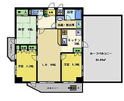 マイキャッスル八王子元横山[7階]の間取り
