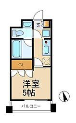 パークフラッツ松戸[11階]の間取り