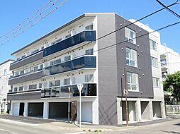 北海道札幌市北区北三十七条西8丁目の賃貸マンションの外観