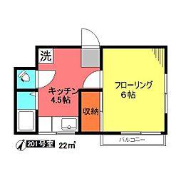 緑が丘駅 4.5万円