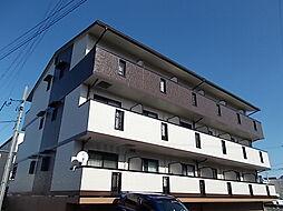 愛知県北名古屋市沖村西ノ郷の賃貸アパートの外観