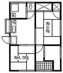 [一戸建] 宮崎県延岡市古城町5丁目 の賃貸【/】の間取り