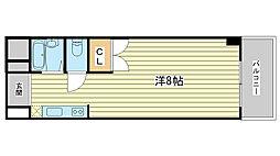 ジュネス船橋[102号室]の間取り