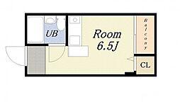 ロータリー40[2階]の間取り