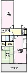 埼玉県さいたま市北区吉野町1丁目の賃貸マンションの間取り