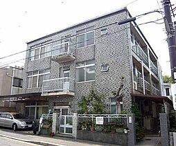 京都府京都市左京区吉田神楽岡町の賃貸マンションの外観