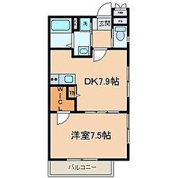 アートスペース横浜[B101号室]の間取り