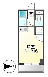 ドール六番町[1階]の間取り