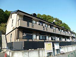 東京都日野市程久保6丁目の賃貸アパートの外観