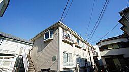 神奈川県川崎市高津区溝口6の賃貸アパートの外観