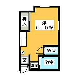 PIVOT静岡[8階]の間取り