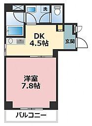 アンソレイユII[5階]の間取り