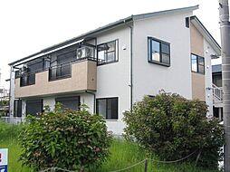 栃木県宇都宮市清原台2丁目の賃貸アパートの外観