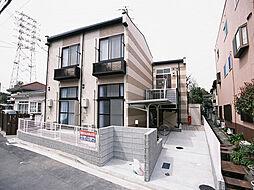 兵庫県尼崎市食満2丁目の賃貸アパートの外観