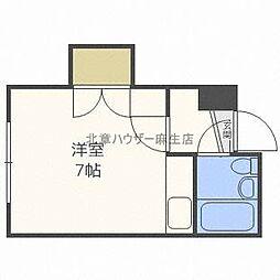 プチメゾン麻生[3階]の間取り