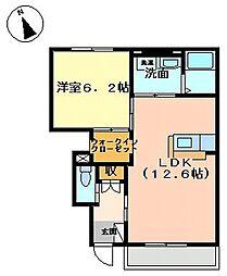 歩[1階]の間取り