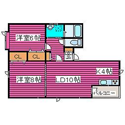 [タウンハウス] 北海道札幌市北区篠路四条10丁目 の賃貸【北海道 / 札幌市北区】の間取り