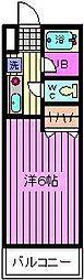 コンフォートマンション桜木町[830号室]の間取り