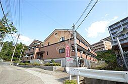 兵庫県神戸市須磨区車字口道谷の賃貸アパートの外観