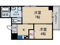 Navi3[6階]の間取り