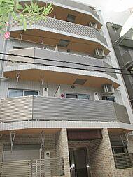 東京都目黒区中根2丁目の賃貸マンションの外観