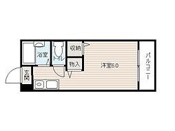 メゾン福栄[5階]の間取り