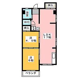 唐山ビル[3階]の間取り