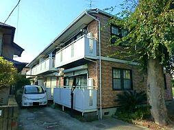 千葉県四街道市四街道2の賃貸アパートの外観