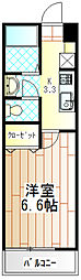 GREAT STAGE(グレートステージ)[103号室]の間取り