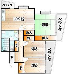 えみなーすIII[2階]の間取り