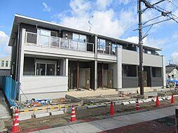 大阪府羽曳野市古市2丁目の賃貸アパートの外観