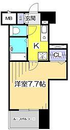 ガラ・ステージ国分寺[10階]の間取り