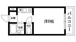エルジャン夙川[307号室]の間取り