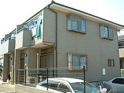 千葉県四街道市美しが丘の賃貸アパートの外観